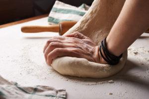 lavorazione artigianale pizza